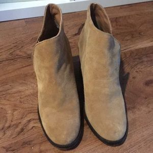 Zara ankle suede boots size 37